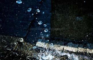Zun bedrukt Onder water